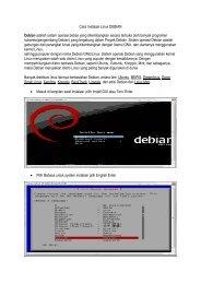 Cara Instalasi Linux DEBIAN Debian adalah sistem operasi bebas ...
