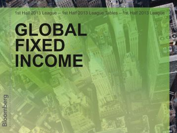 Fixed Income - Bloomberg
