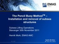 The Pencil Buoy Method TM – Installation and removal of subsea ...