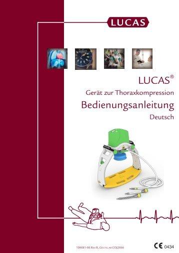 LUCAS Bedienungsanleitung - Lucas CPR