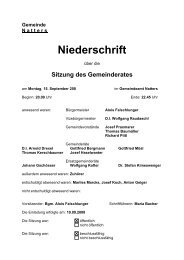 Protokoll vom 15.9.2008 (91 KB) - .PDF - Natters