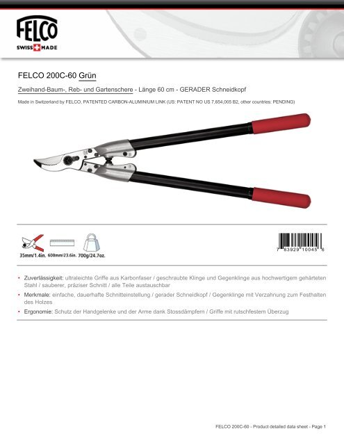 FELCO 200C-60 Grün