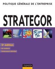 strategor Politique générale de l'entrePrise - Dunod