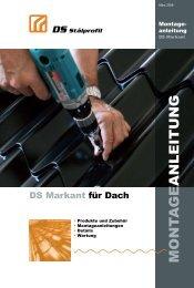 Montageanleitung - DS Stålprofil