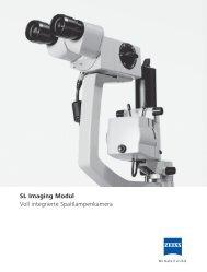 SL Imaging Modul Voll integrierte Spaltlampenkamera - Carl Zeiss