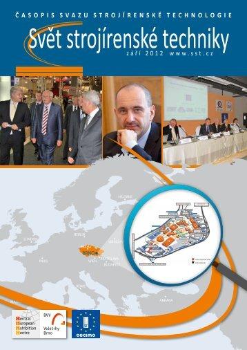 Svět strojírenské techniky číslo 3/2012 (PDF, 7.30 MB) - Svaz ...