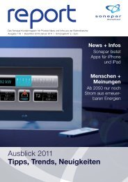 Ausblick 2011 Tipps, Trends, Neuigkeiten