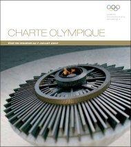 charte olympique - Comité National Olympique et Sportif Français