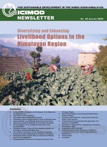 ICIMOD Newsletter Autumn 2005 - Himalayan Document Centre ...