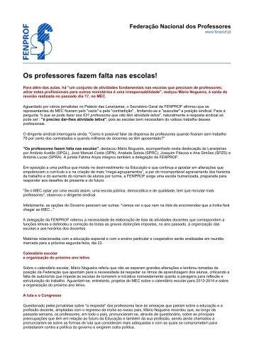 Abrir como PDF - Fenprof
