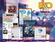 2013 - R&D Magazine