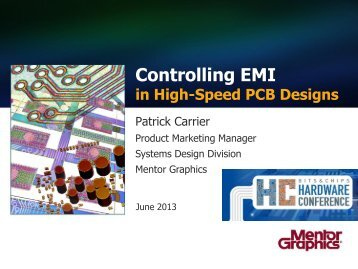Controlling EMI - Hardware Conference