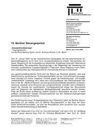 Tagungsbericht 15. Berliner Steuergespräch (PDF-Format)
