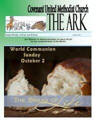 October 2011 Ark - Covenant United Methodist Church