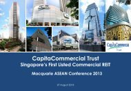 Attachment 1 - CapitaCommercial Trust