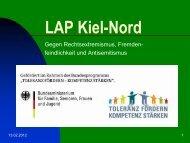 Organisation des LAP Kiel-Nord - Migranten-Forum Kiel