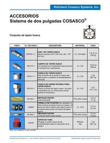 ACCESORIOS Sistema de dos pulgadas COSASCO - Rohrback ...
