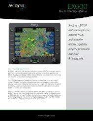 Avidyne EX600 Brochure - Banyan Air Service