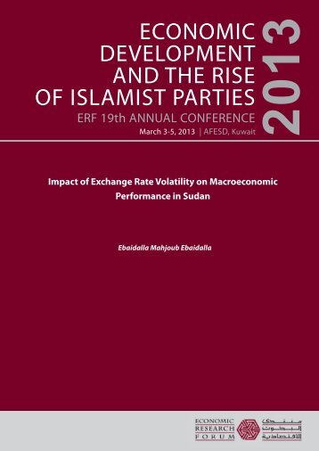 Impact of Exchange Rate Volatility on Macroeconomic Performance ...