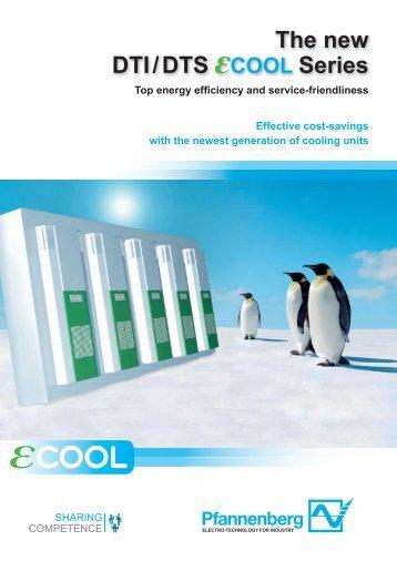 Cooling units 4000 W DTI/DTS 6801
