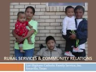 RURAL SERVICES & Community Relations - ethniccommunities.org