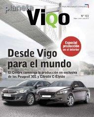 Desde Vigo Para El Mundo - PSA - Site Vigo - PSA Peugeot Citroën