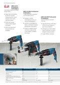 Professzionális kék elektromos kéziszerszámok Kőzet - Bosch - Page 6