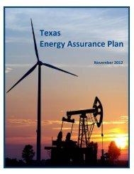 Texas Energy Assurance Plan - Public Utility Commission of Texas ...