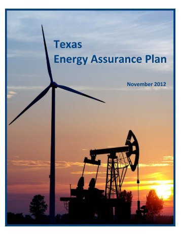 Texas Energy Assurance Plan - Public Utility Commission of Texas ...