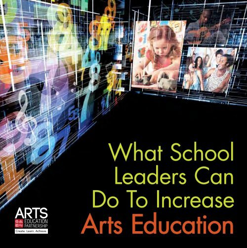 What School Leaders Can Do to Increase Arts Education