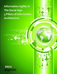 Information Agitility In The Social Age - Digitiliti
