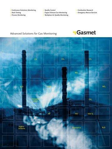 Gasmet Technologies Brochure