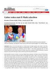 Lieber reden statt E-Mails schreiben - FEP-Liederbach.de