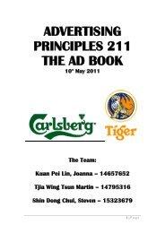 AD211 Carlsberg Ad Analysis - Strongerhead