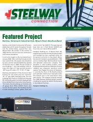 May 2009 Newsletter.indd - Steelway.com