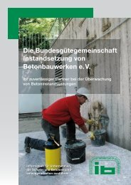 Die Bundesgütegemeinschaft Instandsetzung von Betonbauwerken ...