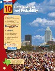 Chapter 10 Data Analysis - New Braunfels ISD