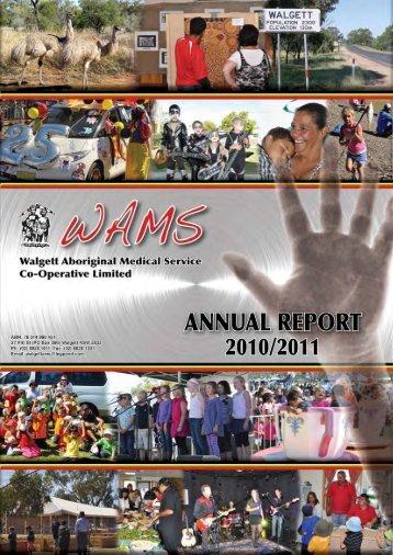 Annual Report 10-11.pdf - WAMS
