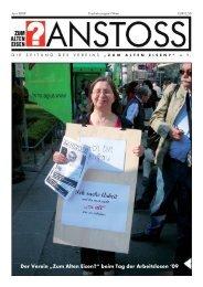 Ausgabe vom Juni 2009 - Zum alten Eisen