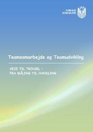 Teamsamarbejde og Teamudvikling - Personaleweb