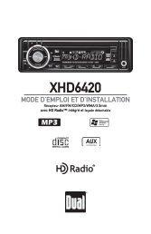 XHD6420 - Dual Electronics