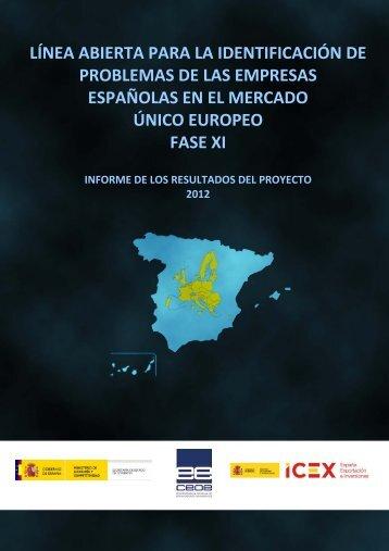 Informe Línea Abierta - Ministerio de Economía y Competitividad