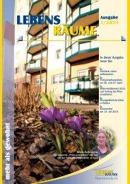 Ausgabe 1/2013 - LebensRäume Hoyerswerda eG