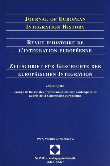 1997, Volume 3, N°2 - Centre d'études et de recherches ...