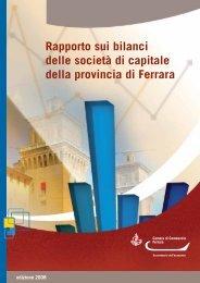 Pubblicazione, edizione 2008 - Camera di Commercio di Ferrara