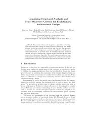 Combining Structural Analysis and Multi-Objective ... - ResearchGate