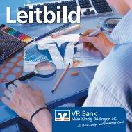Leitbild_Folder_k.cdr - VR Bank Main-Kinzig-Büdingen eG