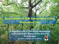 Restoration of Oak Ecosystems - Association for Fire Ecology