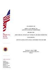 "statement of john p. ""jp"" brown, iii amvets national commander ..."