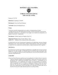 Acción de Tutela Sentencia T-327/01 de la Sala Sexta de ... - Acnur